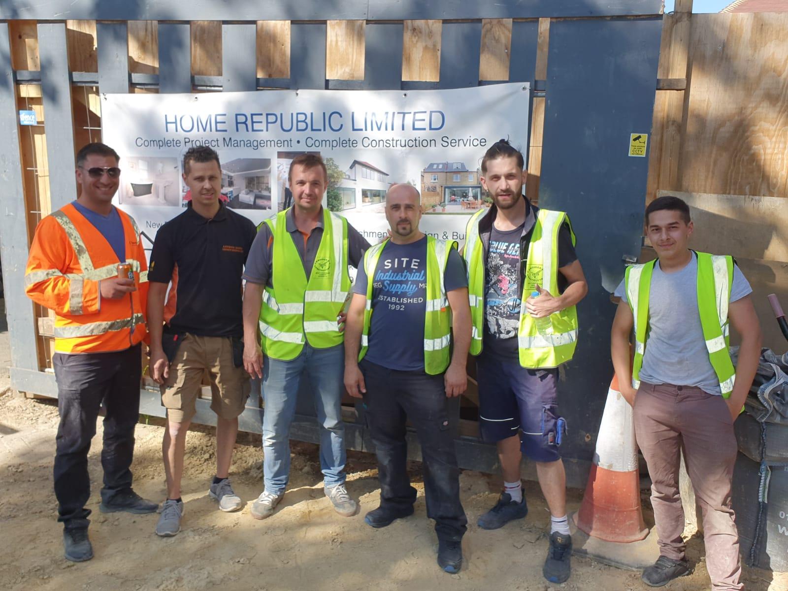 home builders in london