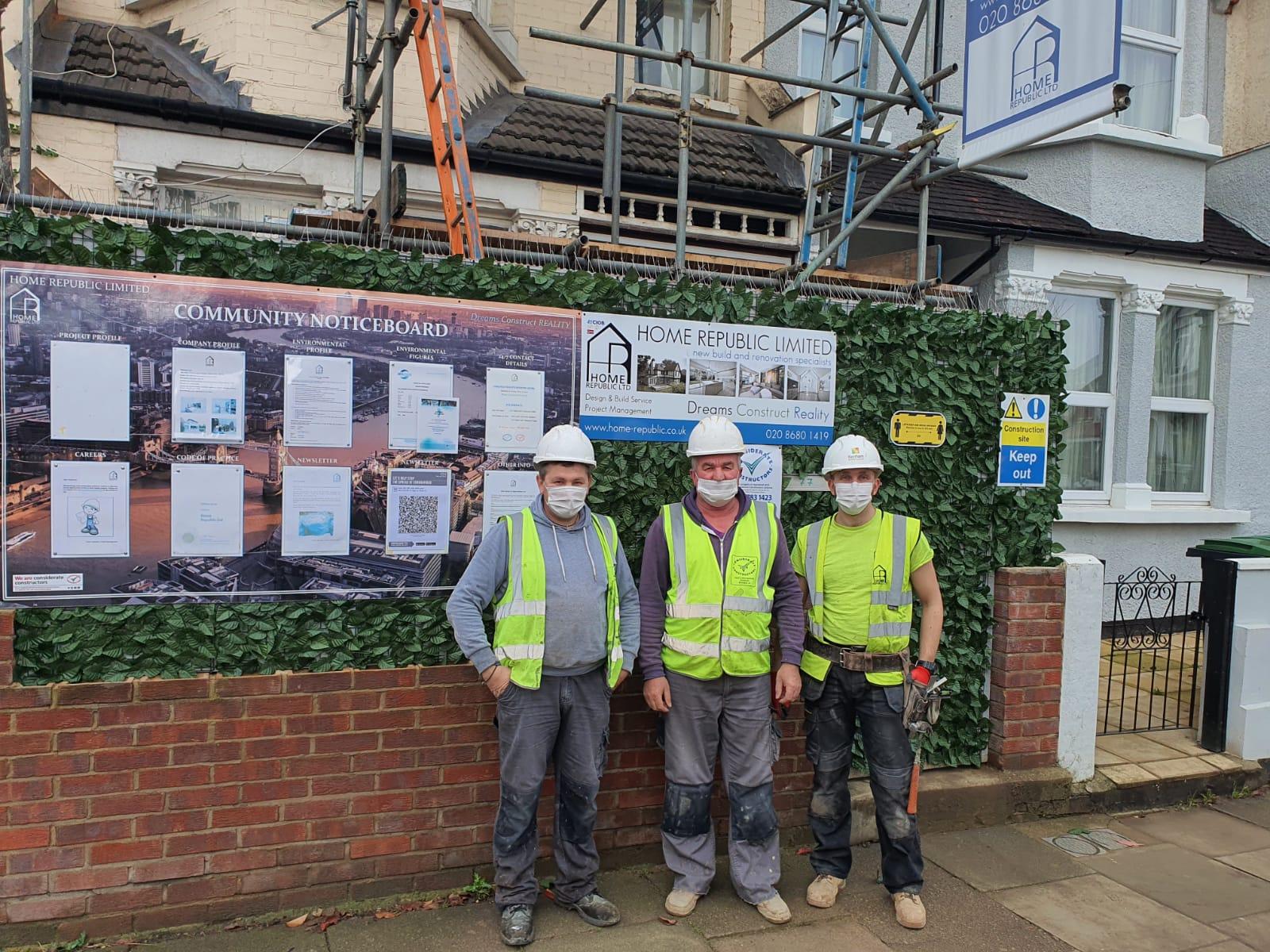 building contractors london uk