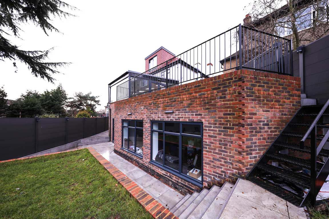 building construction company in london